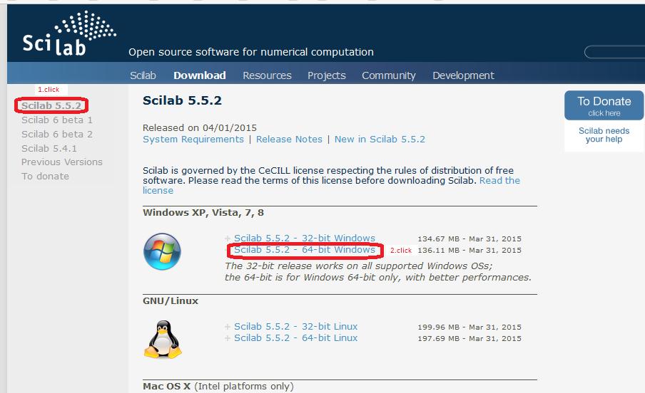 2  Program SCILAB installation – How does it work? Automatics